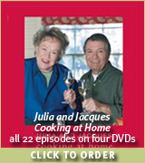 Julia & Jacques Cooking at Home DVD